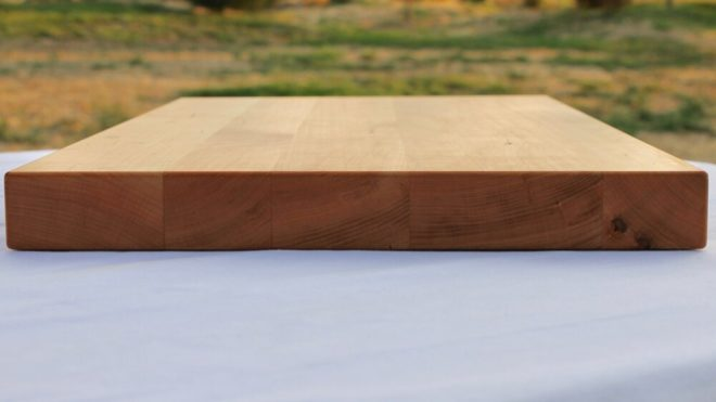 14x20 Cherry Wood Cutting Board - wFREE Board Butter!