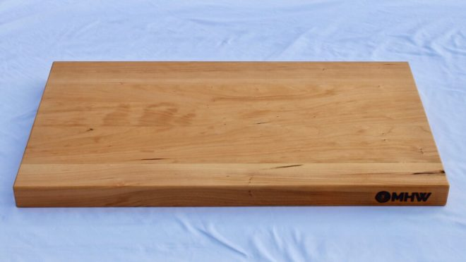 14x24 Cherry Wood Cutting Board - wFREE Board Butter!