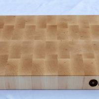 18x20x1.5 Thick Maple End Grain Wood Butcher Block - wFREE Board Butter!