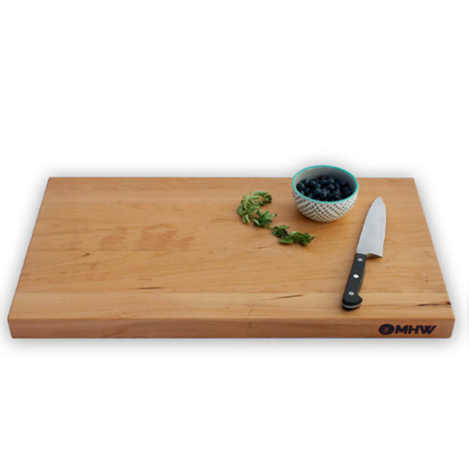 cherry wood cutting board